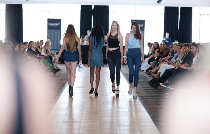 Record roll up for FASHFEST model casting
