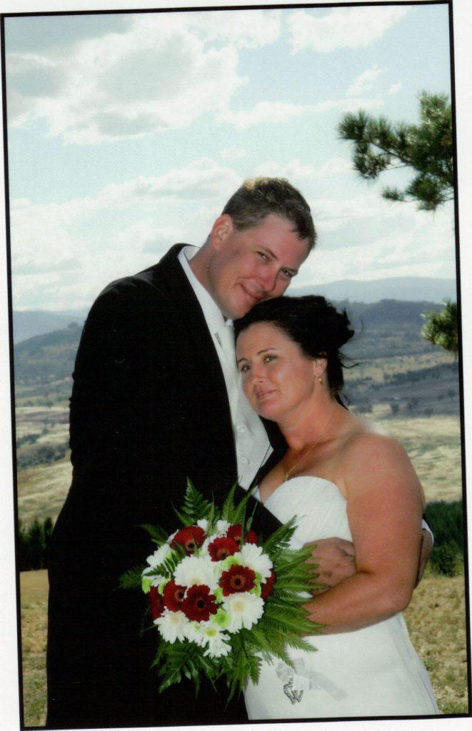 Nick and Tab wedding