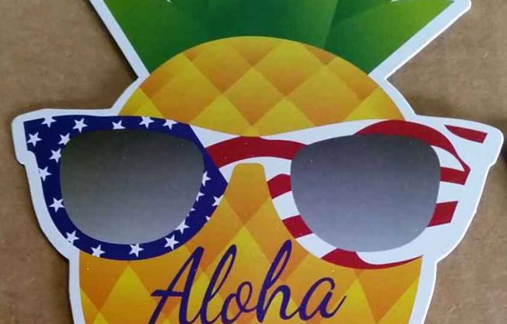 Aloha, Queen Bee Pineapple!