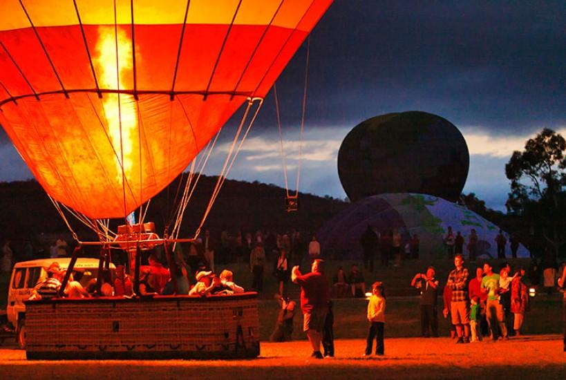balloon dawn