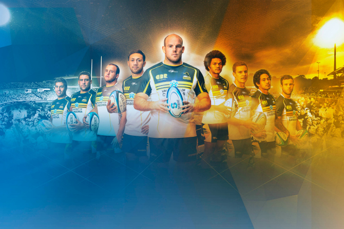 How big is a Brumbies player's …..?