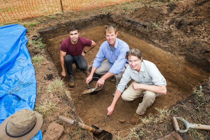 Unearthing Canberra's little known past