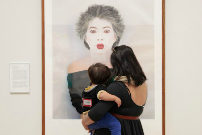 Have you seen the Little Faces at NPG?