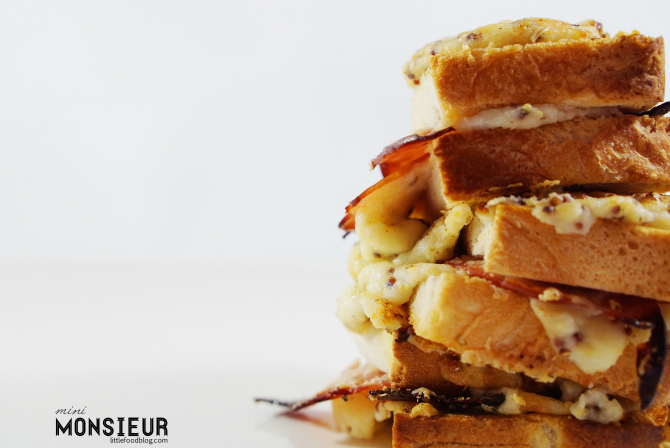 Recipe: Mini Croque Monsieur (and Madames)