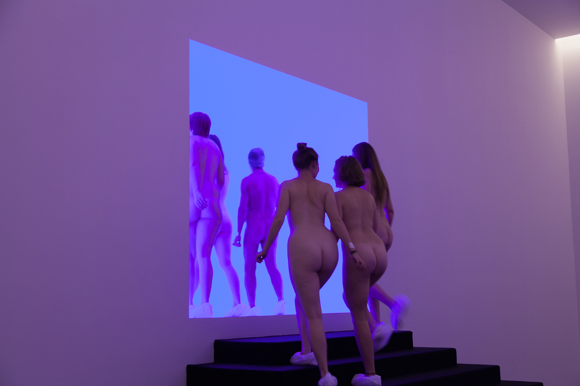 James Turrell Nude: the naked truth