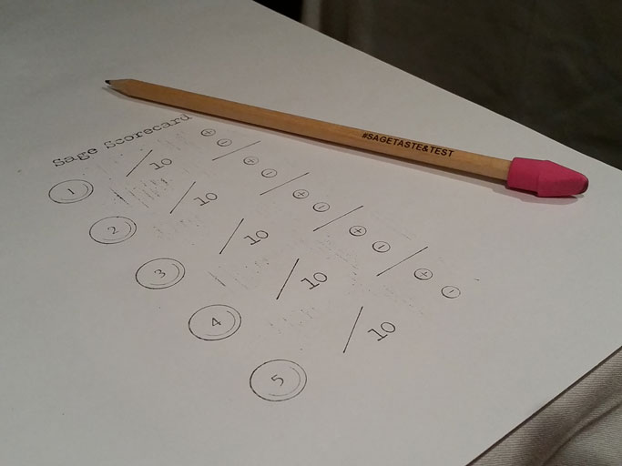 Scorecard and pencil at the ready!