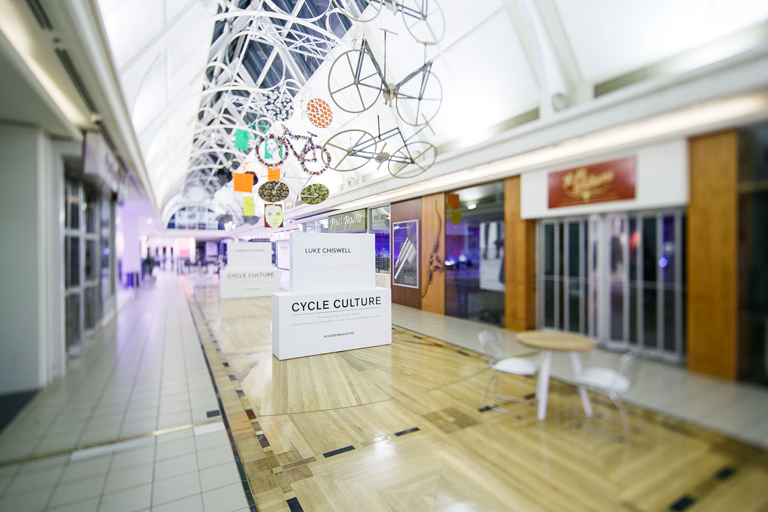 A modern spin on Canberra's cycle culture