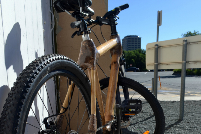 A bamboo bicycle for you…