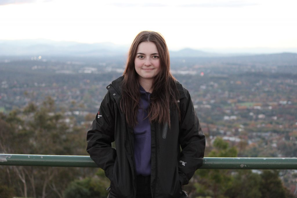 Caitlin Willington. Photo: Young in Canberra