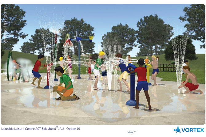 Vote for new Southside water play parks designs