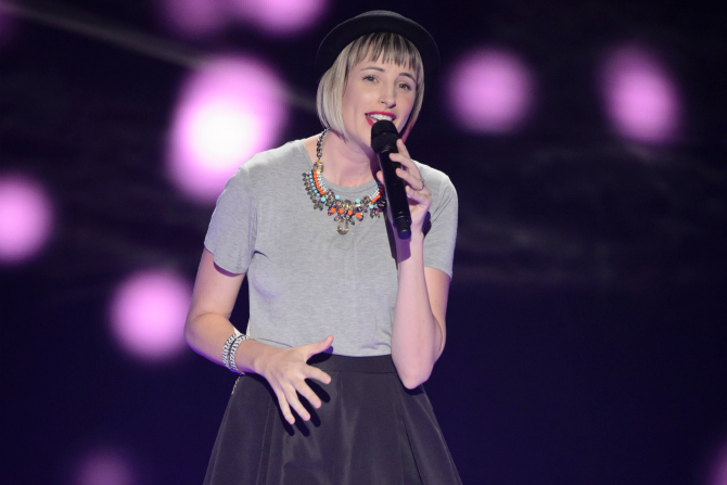 Amber Nichols: Our new 'Voice' hopeful