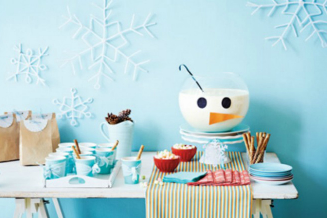 Six DIY kids party ideas for winter