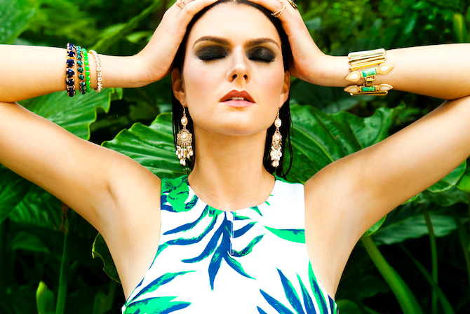 Get the look: Birds of Paradise