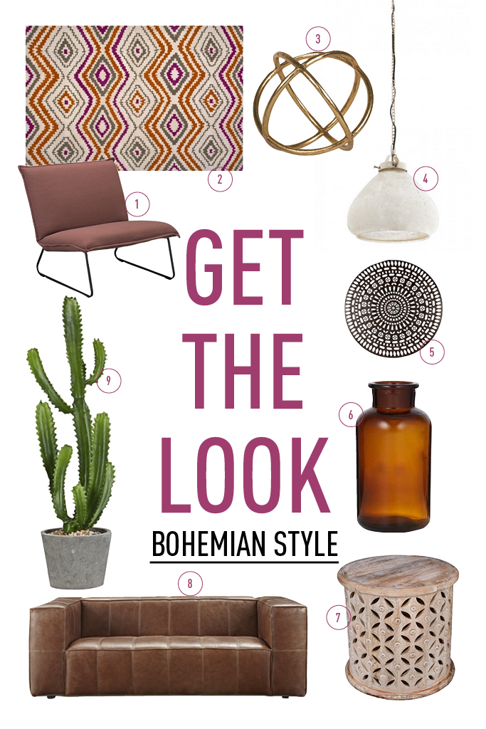 GET THE LOOK - BOHO STYLE2