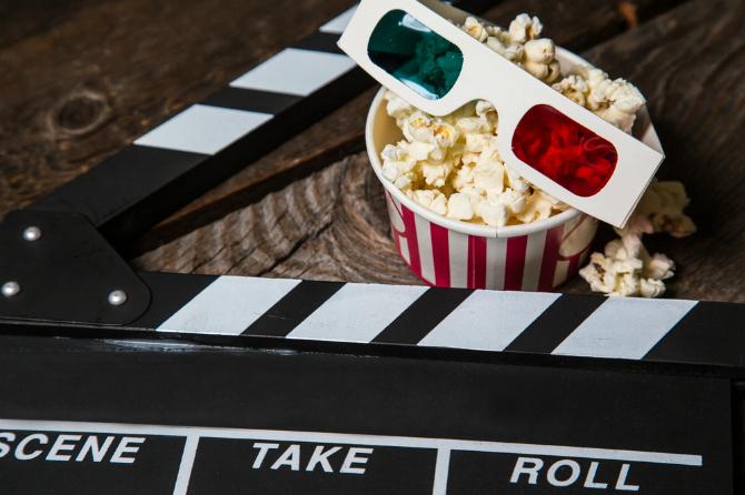 Happy memories: PJs and Popcorn