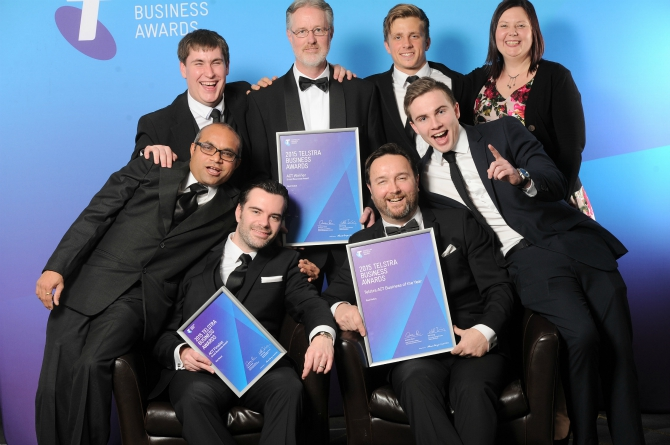 Red Robot snaps up Telstra ACT Business Awards