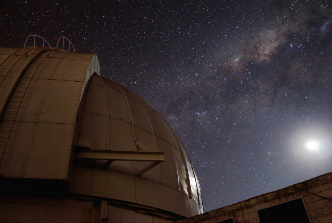 Stargazing at a World Record