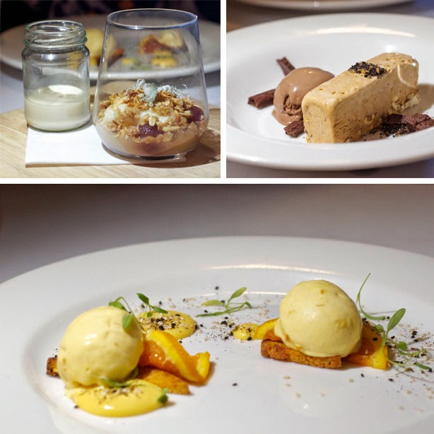 A selection of desserts from Grazing.