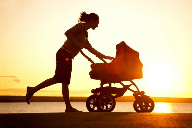 Five exercise tips for breastfeeding mums