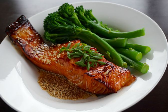 Superfood Sesame Teriyaki Salmon