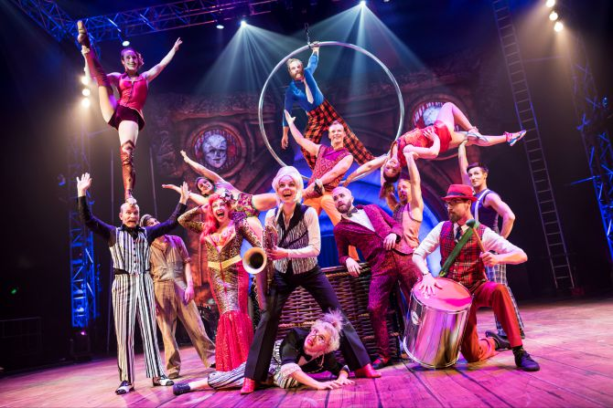 Circus Oz: But Wait…There's More
