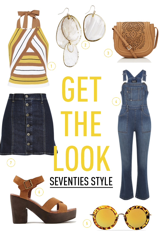 GET THE LOOK - SEVENTIES STYLE2