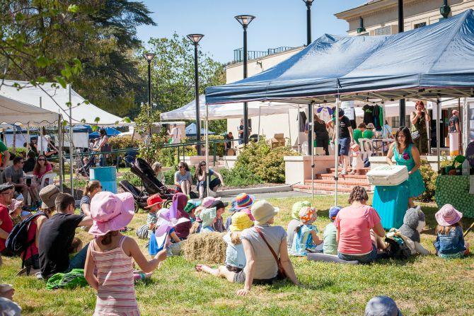 Living Green Festival Blossoms Again