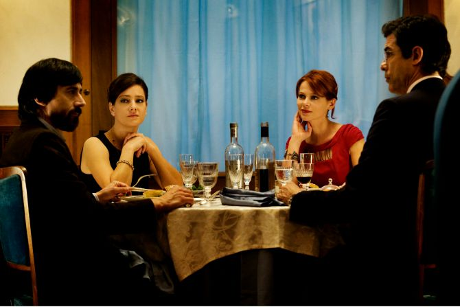 A scene from 'The Dinner' a film showing during the Lavazza Italian Film festival