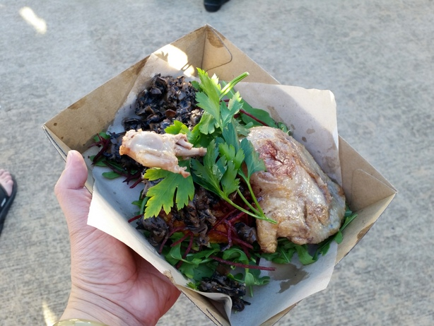 Duck confit from Hard Core Carnivore