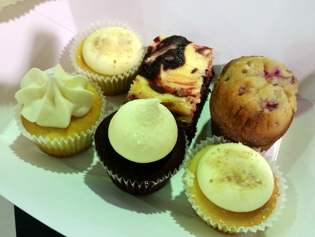 Goodies from B St Bakery