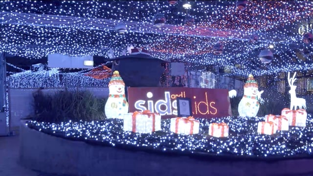 The lights in the city in 2014