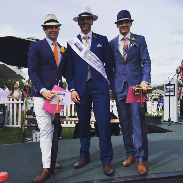 Men's Fashions on the Field winners