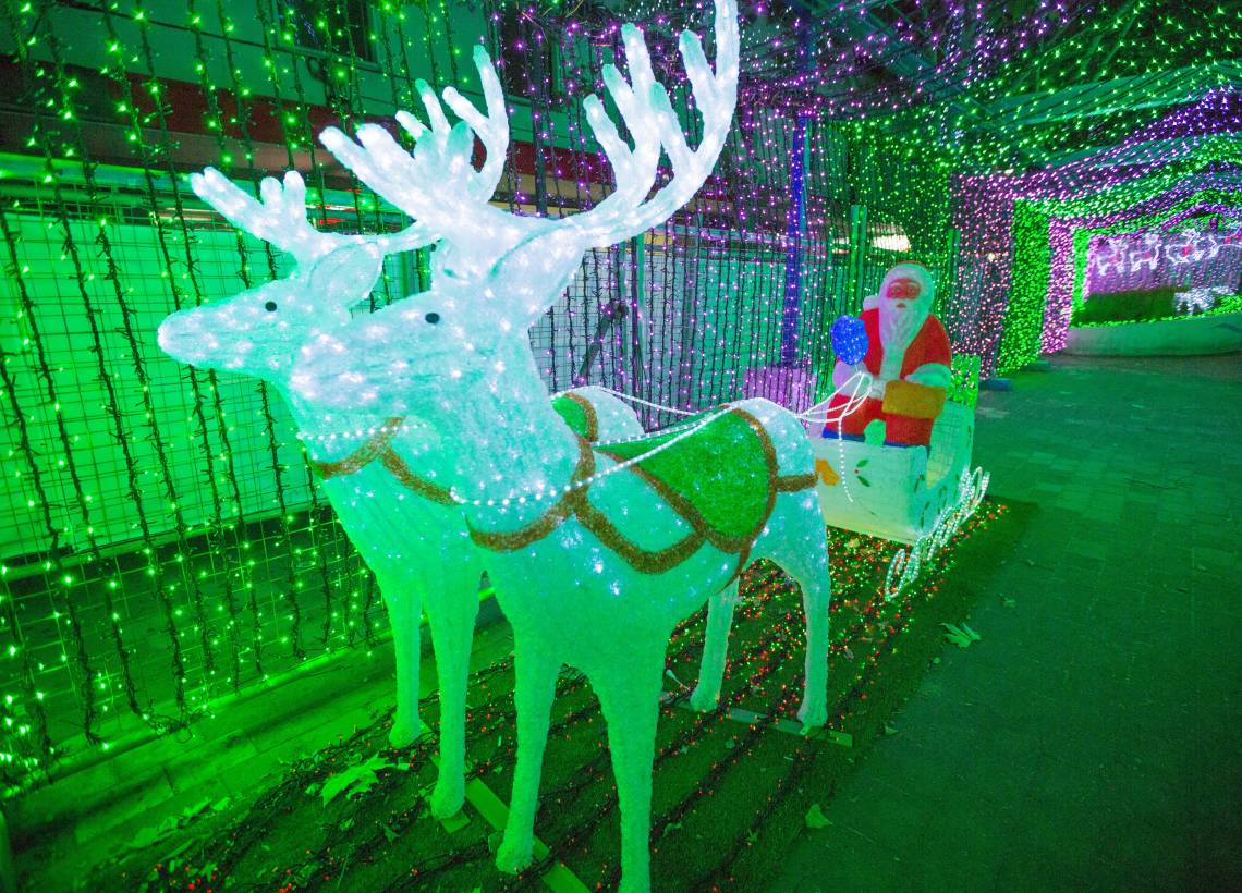 One million ways the city will shine this Christmas