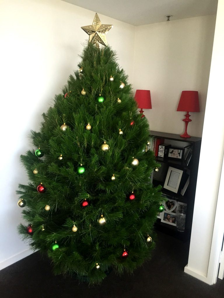 Laura's Christmas tree this year
