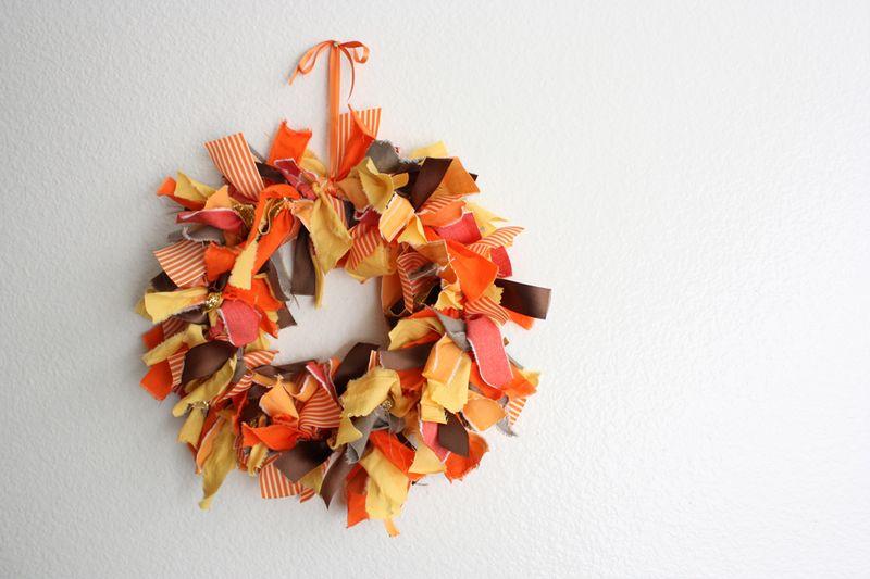 ribbon wreath