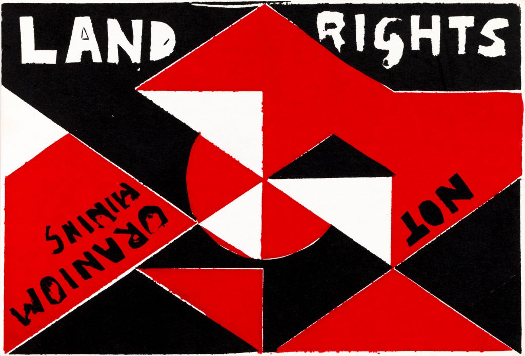 'Land Rights'. Image via the Megalo Archives.