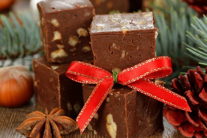 christmas fudge feature