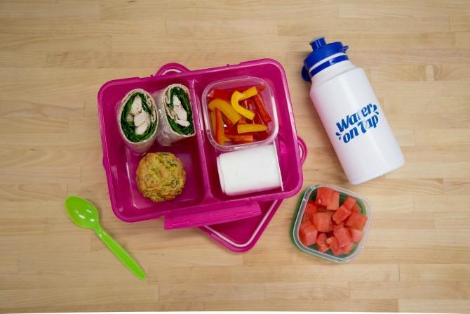 A Week's Worth of Healthy Lunchbox Ideas
