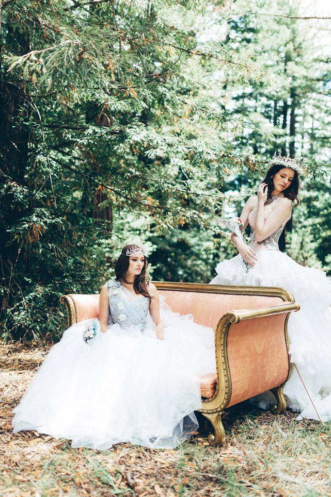 Fairytale woodland wedding inspiration photography by Miss Gen, destination wedding photographer.