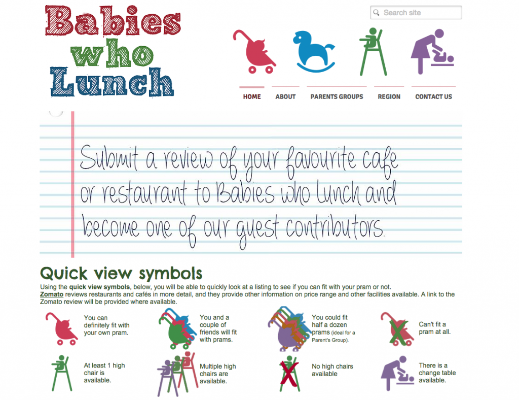 babies who lunch