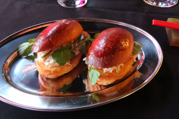 Chinese Brioche Lobster Rolls.