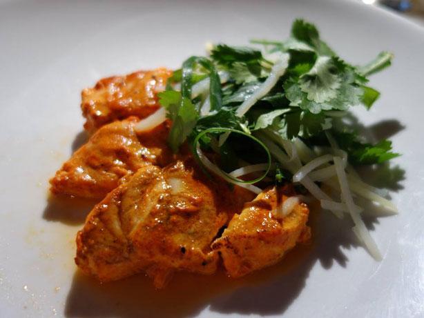 Tandoori Fish, Yoghurt & Tamarind.
