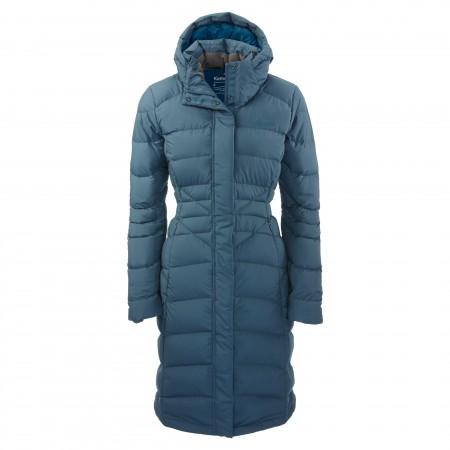 Kathmandu Duck Down Longline Jacket in Denim $599.98