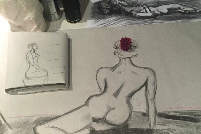 Things I learned from life drawing