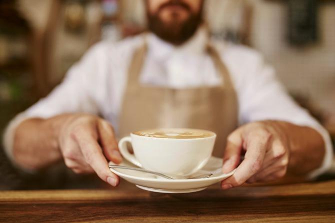 Her Coffee series: Jammin da House with latte art