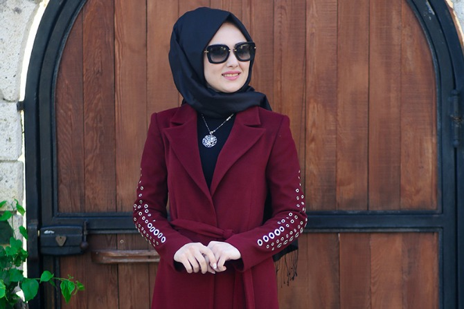 Stay warm with these winter hijab styles