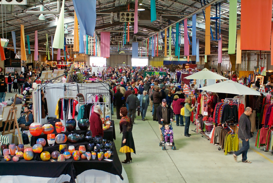 The Old Bus Depot Markets are something of a Sunday tradition.