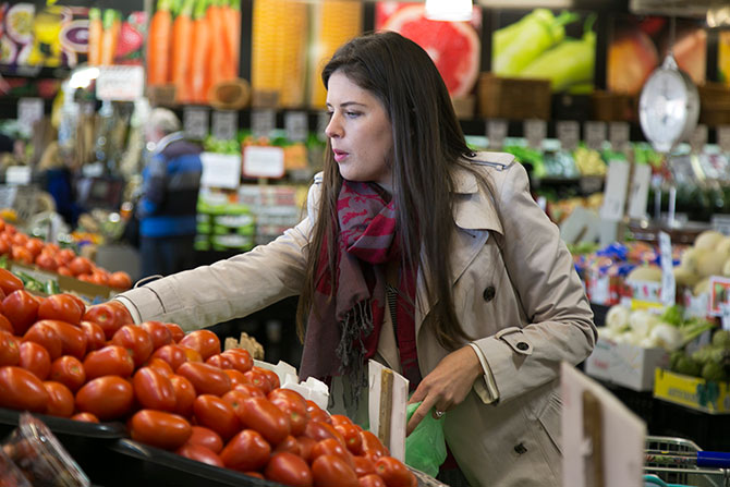 Fyshwick Fresh Food Markets recipe: Beef, Pumpkin and Goats Cheese Salad