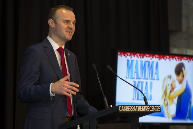 Introducing Canberra's 7th ACT Chief Minister…Andrew Barr