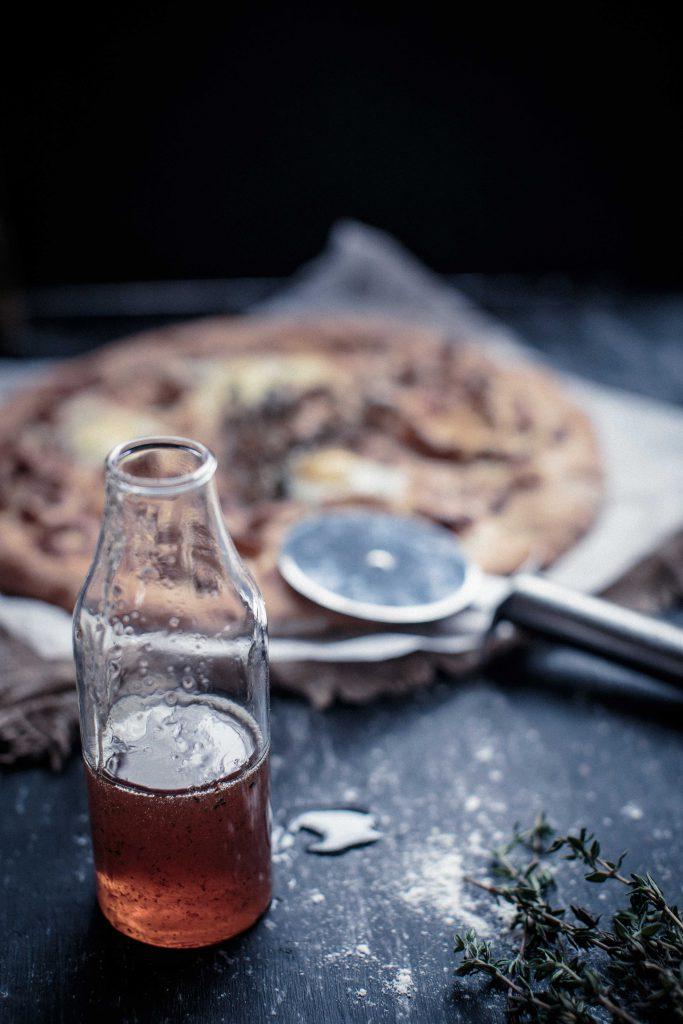 Wild Mushroom, Gruyere and Truffle Honey Pizza   Anisa Sabet   The Macadames-5